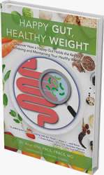 Happy Gut Healthy Weight book by Dr Arun Dhir