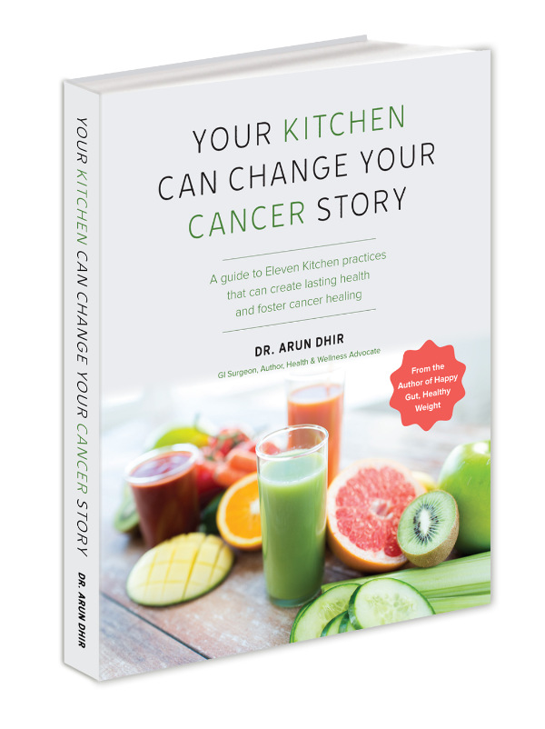 Your Kitchen Can Change Your Cancer Story book cover