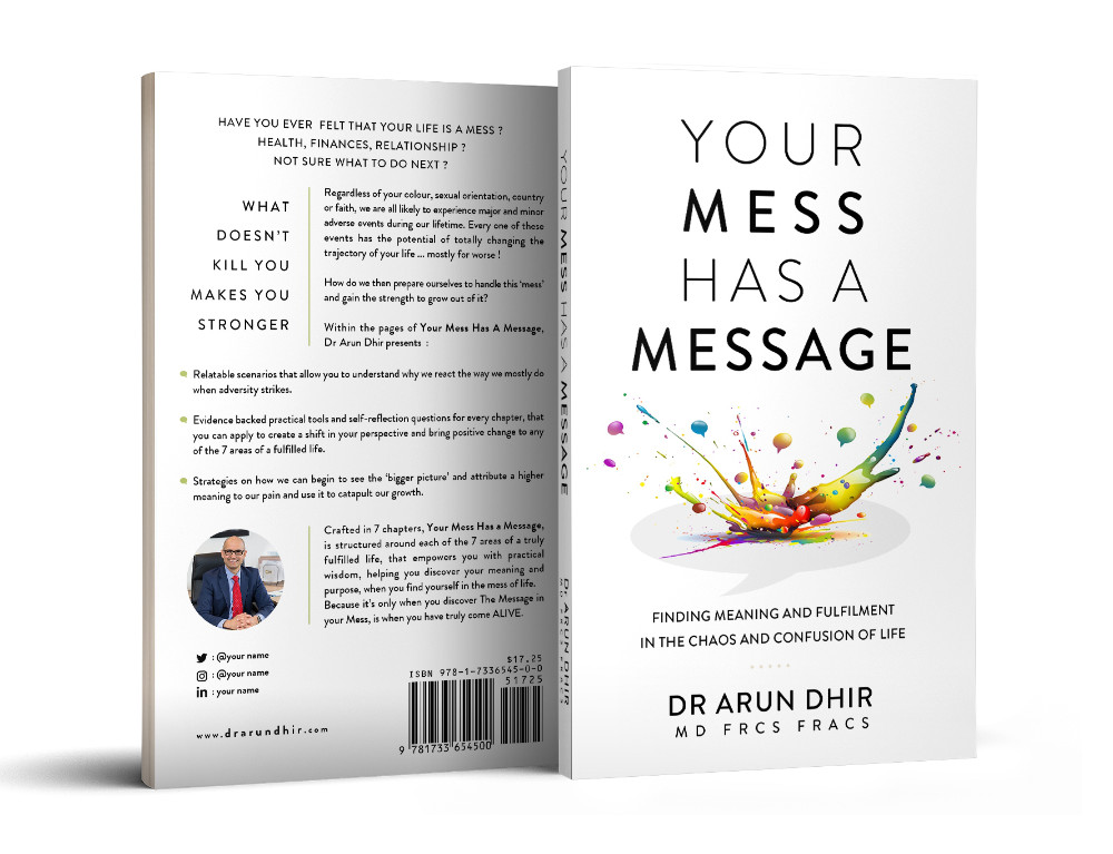 Your Mess Has a Message Book Cover